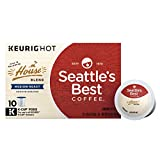Seattle's Best Coffee House Blend Medium Roast Single Cup Coffee for Keurig Brewers, 6 boxes of 10 (60 total K-Cup pods)