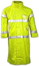 Tingley FR Raincoat, Hi-Vis YellowithGreen, 2XL - C53122