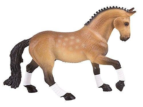 Bullyland 62658 - Spielfigur, Trakehner Wallach, ca. 15,9 cm groß, liebevoll handbemalte Figur, PVC-frei, tolles Geschenk für Jungen und Mädchen zum fantasievollen Spielen