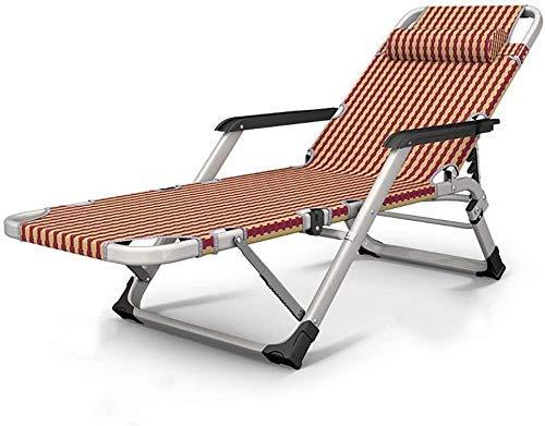 AWJ Sedie Pieghevoli per Esterni reclinabili Picnic Camping Sedia da Spiaggia per Prendere Il Sole Sedie a Sdraio reclinabili