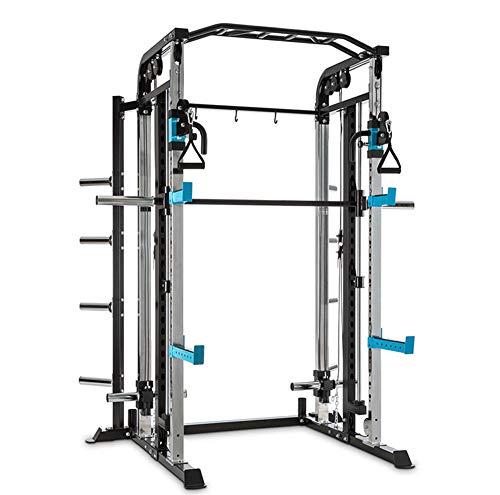 Cage Squat Demi-Rack Puissance Heavy Duty Power Rack Poids Cage de Levage Fonte Peint Craft Fer