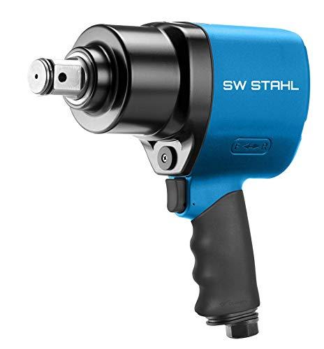 SW-Stahl S3276 Druckluft-Schlagschrauber I 1/2 Zoll I 1756 Nm I Druckluftschrauber für Reifenwechsel