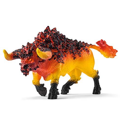 Schleich- Toro De Fuego, Color negro (42493)