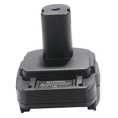 Batterie Konverter Adapter | Batterieadapter Für Makita 18V Batterie | MT20RNL Adapter Mit USB-Ladeanschluss Batteriewerkzeuge Die Meisten Batterien Für MAKITA: BL1860B /...