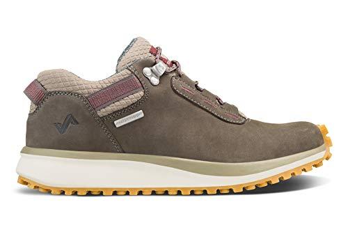 Forsake Range Low – Damen Approach Sneaker aus wasserdichtem Leder, Beige (Timberwolf), 39 EU