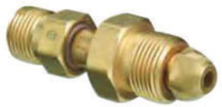 Western CGA-580 X CGA-346 Brass Cylinder To Regulator Adapter