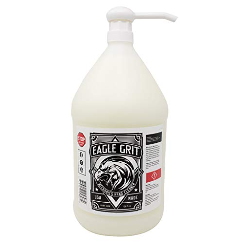 Eagle Grit Heavy Duty Industrial Hand Cleaner for Auto Grease, Dirt,...