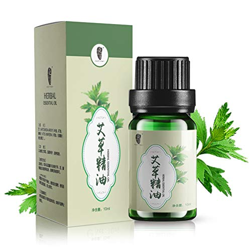 MeterMall Fashion For 10ml Herb Pure Essential Oils Compound Sauna Beauty Scraping Argy Wormwood Essential Massage Oil Wormwood essential oil