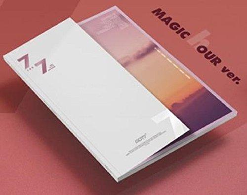 7 For 7 GOT7 [MAGIC hour A Ver.] 7th Album CD + Cover + Photo book + Photo card + Lyrics book + Extra 4 Photo cards Set