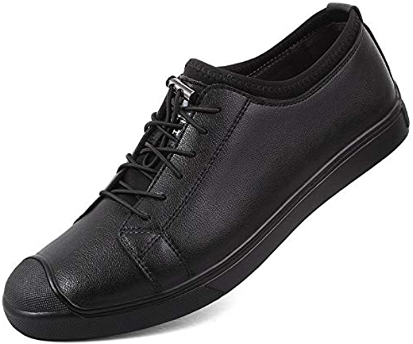 LOVDRAM Chaussures Hommes New Business Chaussures Hommes Casual Chaussures Hommes First Layer Leather Driving chaussures Mode