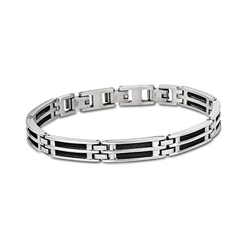 Lotus Herren Armband LS1800-2/1 Edelstahl Silber schwarz Style D4JLS1800-2-1 Armband präsentiert von IMPPAC