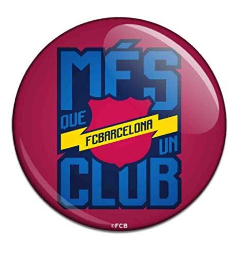 Barcelona Button Badge Mes Queun Club
