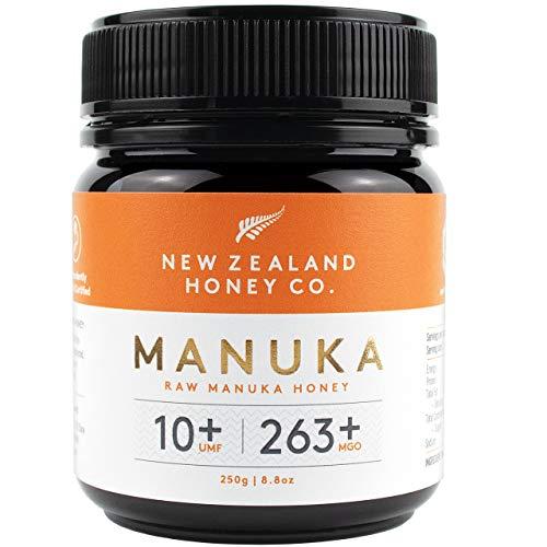 New Zealand Honey Co. Manuka Honig MGO 263+ / UMF 10+ | Aktiv und Roh | Hergestellt in Neuseeland | 250g