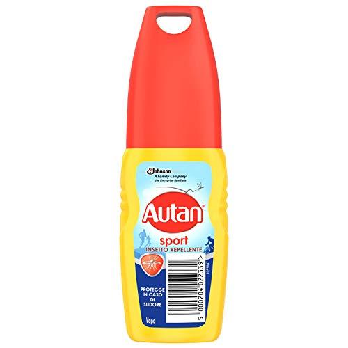 Autan Sport Vapo Insetto Repellente e Antizanzare Tigre e Comuni, 1 Confezione da 100 ml