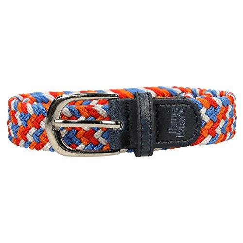 Cinghia elastica di colore arancione olandese.