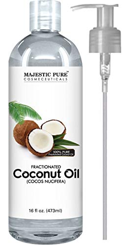 Majestic Pure Fractionated Coconut Oil, For...