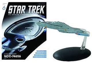 Eaglemoss Publications Star Trek Starships U.S.S. Voyager NCC-74656 with Magazine