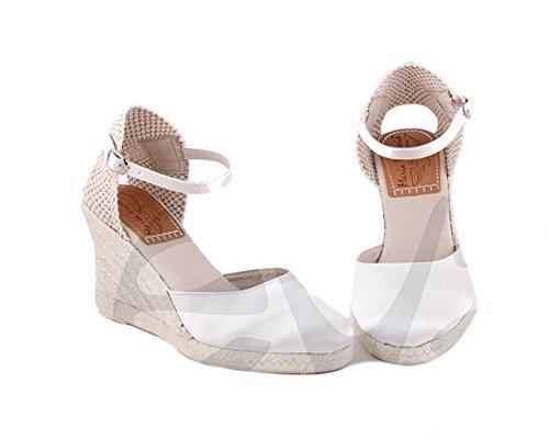 Maria Victoria- 1594 - Zapato Señora Piel - 39, Marfil