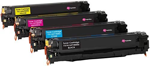 4er Set Premium Toner kompatibel für Canon 731 LBP-7100CN, LBP-7110CW, MF-8230CN, MF-8280CW | hohe Kapazität