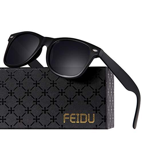 Polarized Sunglasses for Men Retro - FEIDU Polarized Retro Sunglasses for Men FD2149...
