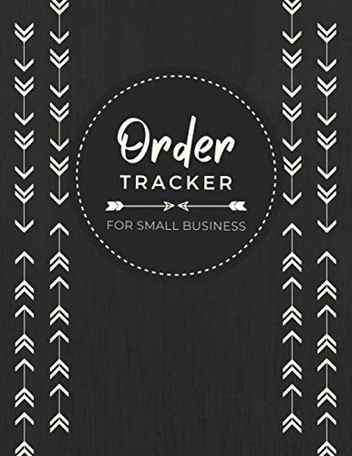 Order Tracker for Small Business | Sales Order Form Logbook to Record and Manage Customer Information, Order Details & Items Purchased | Two Order Entries Per Page