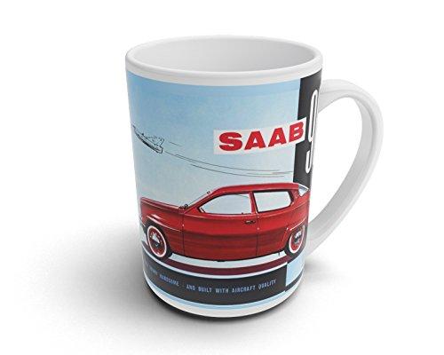 caprica91 SAAB 96 Tasse Kaffeebecher Fototasse Kaffee Tasse - T036
