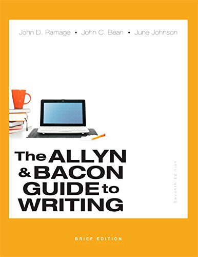 Allyn & Bacon Guide to Writing, Brief Edition, The, Plus MyLab Writing -- Access Card Packge (7th Edition)