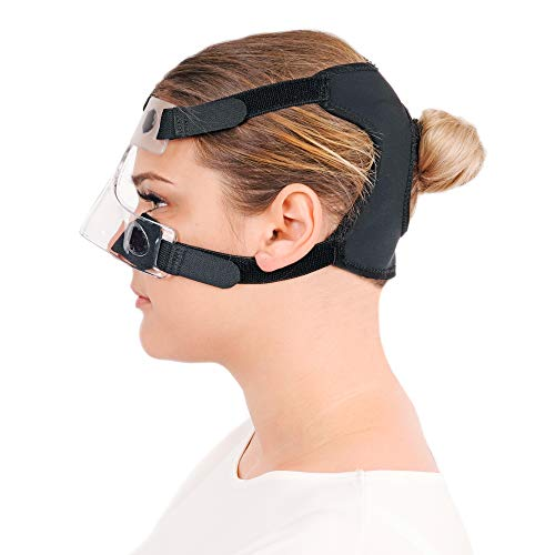Nose Guard Face Shield, One Size Fits All Protective Face Mask for Broken Nose with Clear Vision
