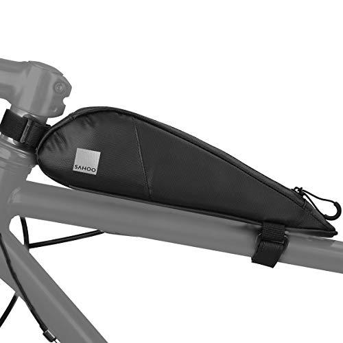 Sahoo 122052 Fully Waterproof Bike Front Frame Bag Top Tube Storage Pannier (122052)
