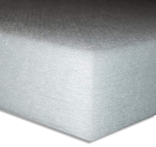 Polyester-Dämmvlies-Matte/Stärke 60mm / selbstklebend - RG: ca. 30kg/m³ - weiß