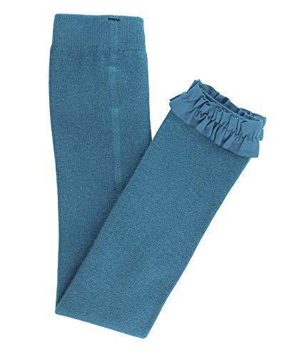 Mallas RuffleButts para bebé/niña hasta el tobillo, sin pies, con volantes,  azul (Ethereal Blue), 12-24 Meses