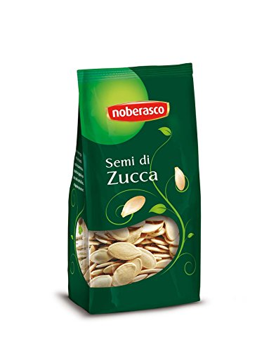Noberasco Semi di Zucca - confezione da 18 pezzi da 200g Semi di Zucca Tostati