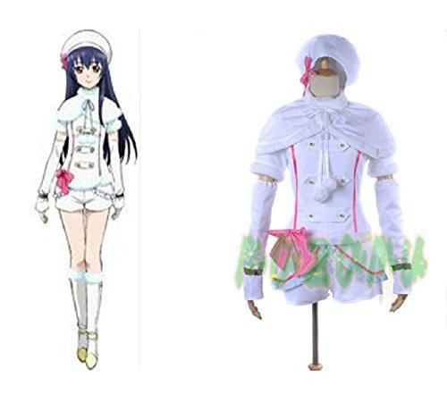 園田海未 LoveLive! ラブライブ! Snow halation μ's スノーハレーション コスプレ衣装 コスチューム ハロウィン クリスマス cosplay (女性XL)