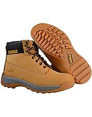 أحذية السلامة من ديوالت للرجال، لون عسلي اللون، مقاس 7