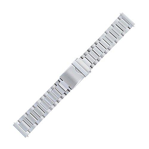 Victorinox Uhrenarmband 21mm Edelstahl Silber - Uhrband Set 005261