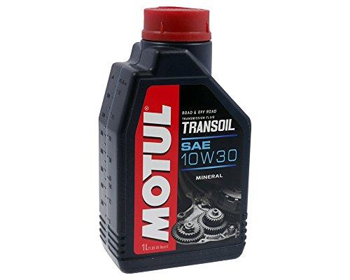 Getriebeöl MOTUL SAE 10W30 Transoil 1 Liter 2-Takt Maschinen mit Nasskupplung