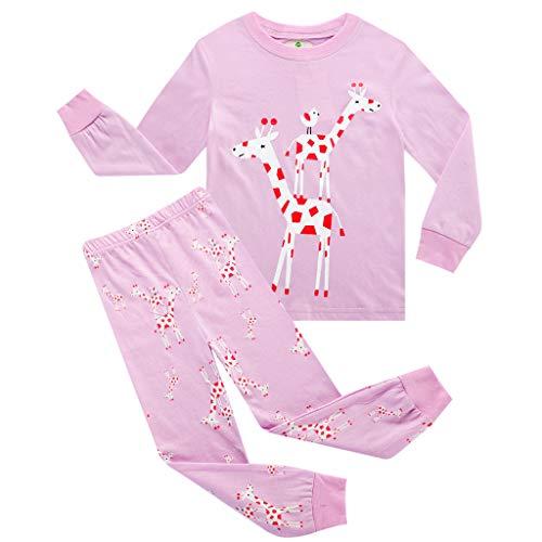 Niña Conjunto Pijamas Chicas Lindas Dos Piezas Chándal