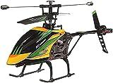 Liiokiy Control Remoto Plano Gigante Gigante de 4 Canales RC Helicóptero Single Oar Carga Eléctrico RC Helicóptero Inferencias Inferencias Plane Locos Regalos para Niños y Adultos Regalos