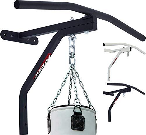 RDX Klimmzugstange Reckstange Wand Iron Armschlaufen Pull Up Übungen Wandmontage Türrahmen Klarfit Decke Fitness Gym