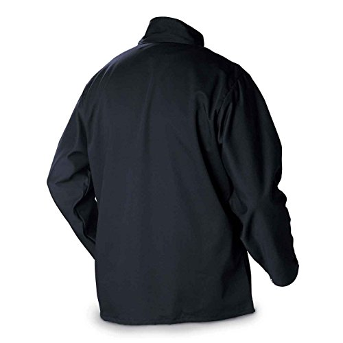 Miller Electric 2241909 Welding Jacket, Navy, Cotton/Nylon, XL