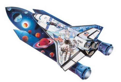 Space Shuttle 1000 Pieces Shaped Puzzle