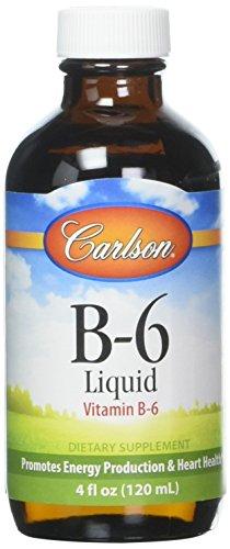 Carlson Labs - Vitamin B6 Liquid 200 mg. - 4 oz.