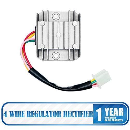 Maso, regolatore raddrizzatore universale a 4 fili, 12 V AC, regolatore di tensione per moto, moto, quad, scooter