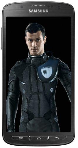Samsung Galaxy S4 Active Smartphone (12,7 cm (5 Zoll) FHD TFT-Touchscreen, 1,9GHz, Quad-Core, 2GB RAM, 16GB interner Speicher, 8 Megapixel Kamera, LTE, Android 4.2) grau