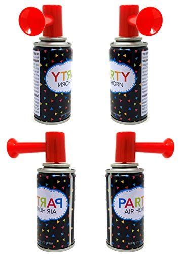 10 Air Horn Small Noise Maker Perfect for Parties, Baby Showers, Sports Events or any other Fun Activity Wholesale Bulk Lot