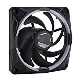 Portable Mini Cooling Fan, CPU Cooler 12cm Chassis Case Heat Sink Water Cooler