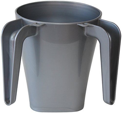 Majestic Giftware WCP-GY Plastic Wash Cup, 5.Inch, Grey