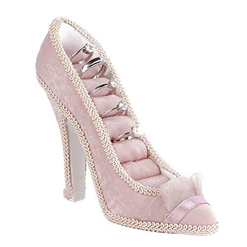 Carnaval de San Valentín Estante de joyería, Modelo de Vestido Zapatos de tacón Alto Pendiente Collar Anillo Soporte Soporte Pantalla(De tacón Alto)