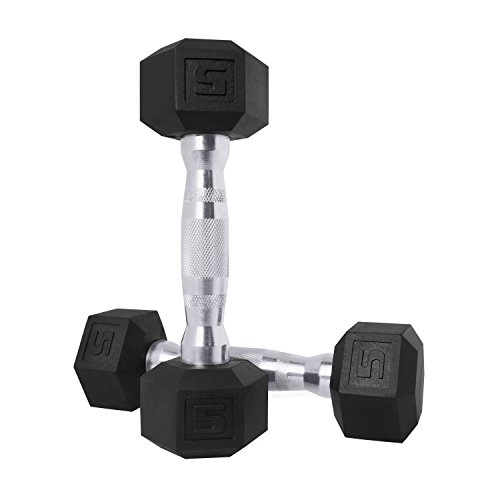 CAP Barbell SDPP-030 Color Coated Hex Dumbbell, 15 lb Pair
