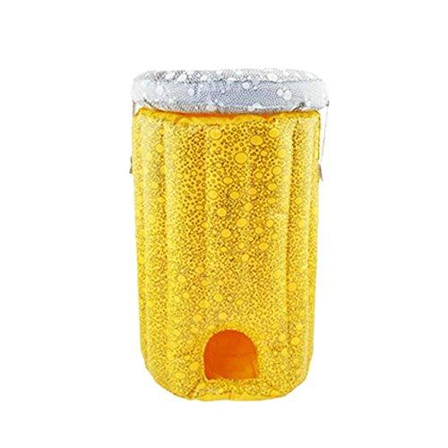 kamiustore Cooler Gonfiabile per Birre - Dispositivo refrigerante Gonfiabile per fusti Birra Fino a 5lt